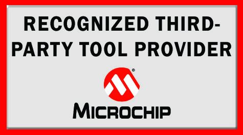 Microchip recognized third-party provider button